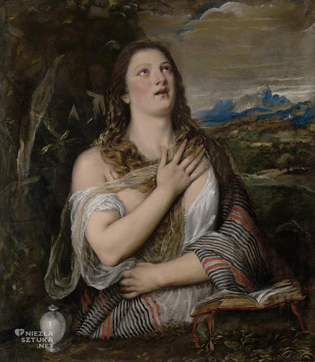 Tycjan Pokutująca Maria Magdalena