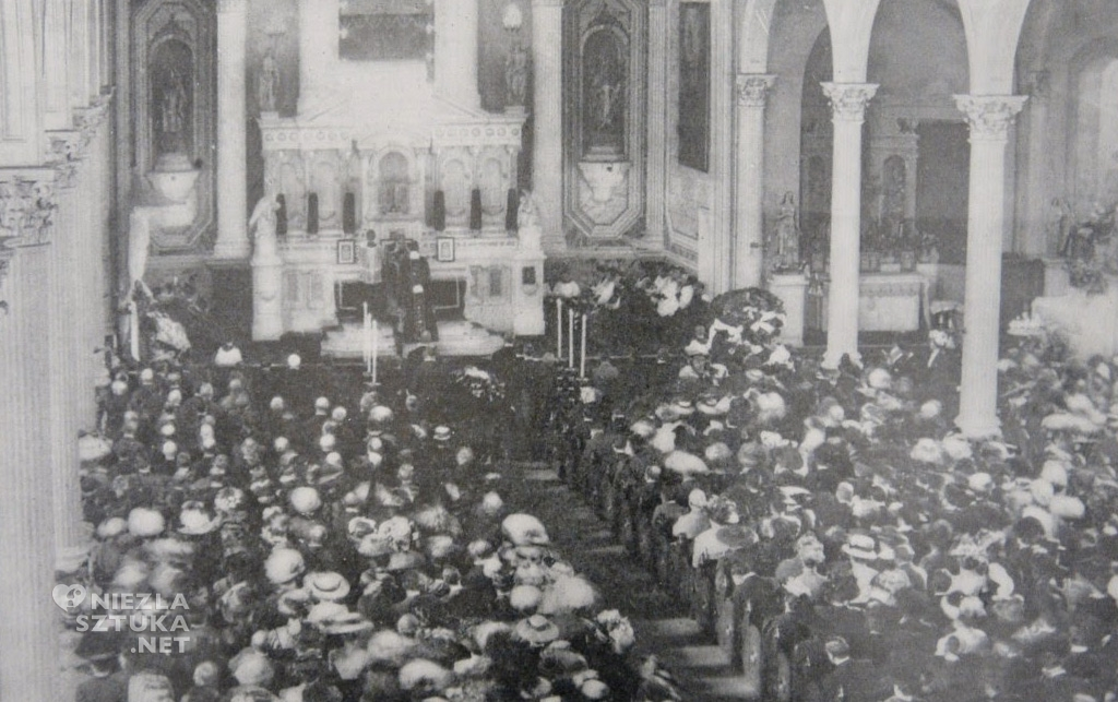 Pogrzeb Modrzejewskiej w Los Angeles