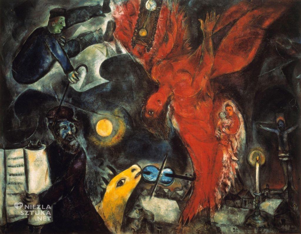 Marc Chagall Upadły Anioł