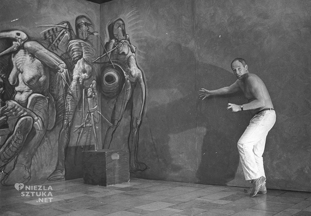 Franciszek Starowieyski - Teatr Rysowania, dzięki uprzejmości żony artysty