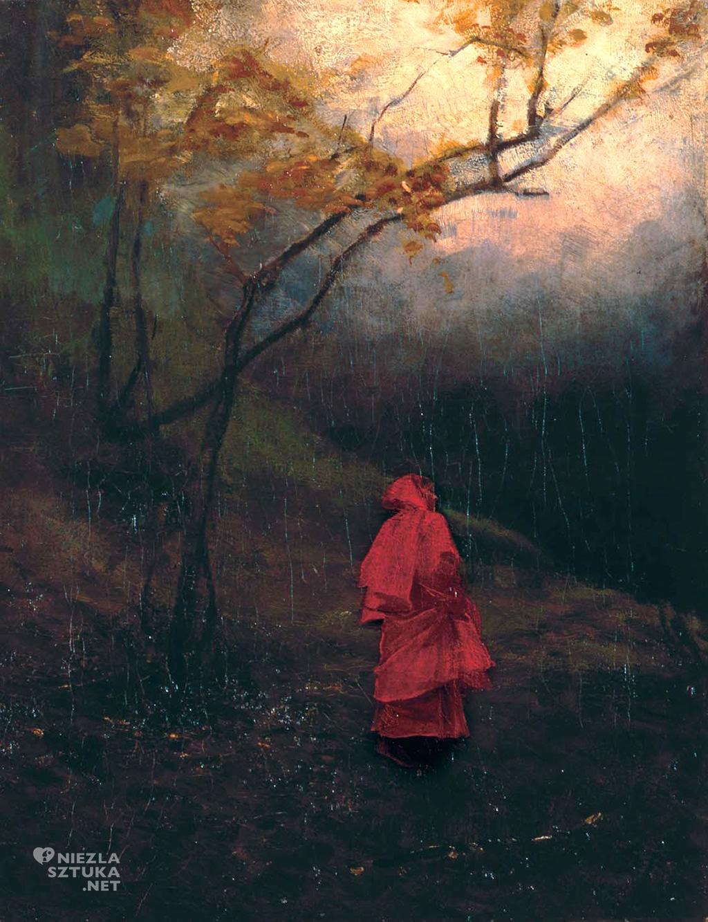 władysław wankie samotna w parku, płock