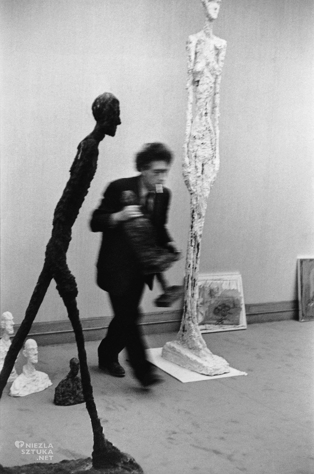 Henri Cartier-Bresson, Alberto Giacometti, Maeght Gallery, Paris, 1961 © Henri Cartier-Bresson