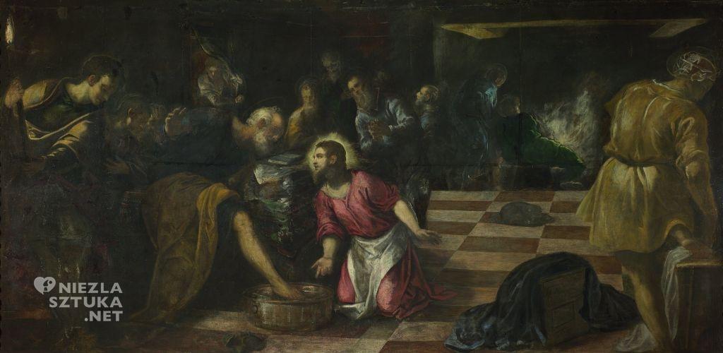 Jacopo Tintoretto, Chrystus obmywajacy stopy uczniom