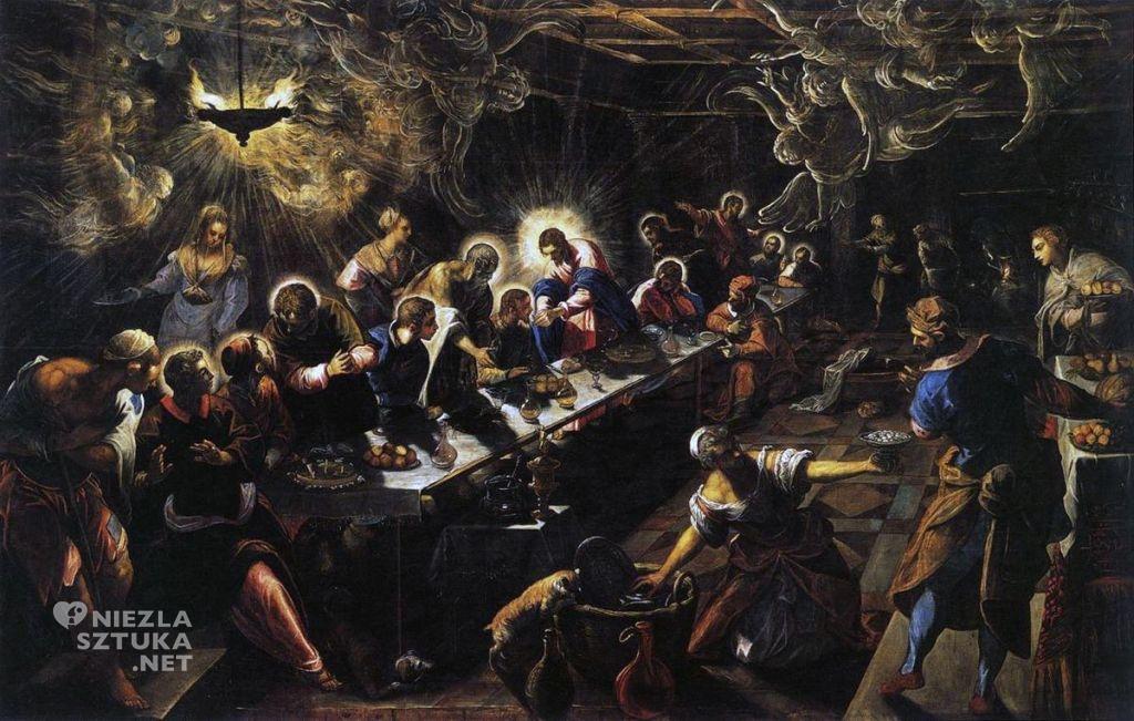 Jacopo Tintoretto Ostatnia Wieczerza