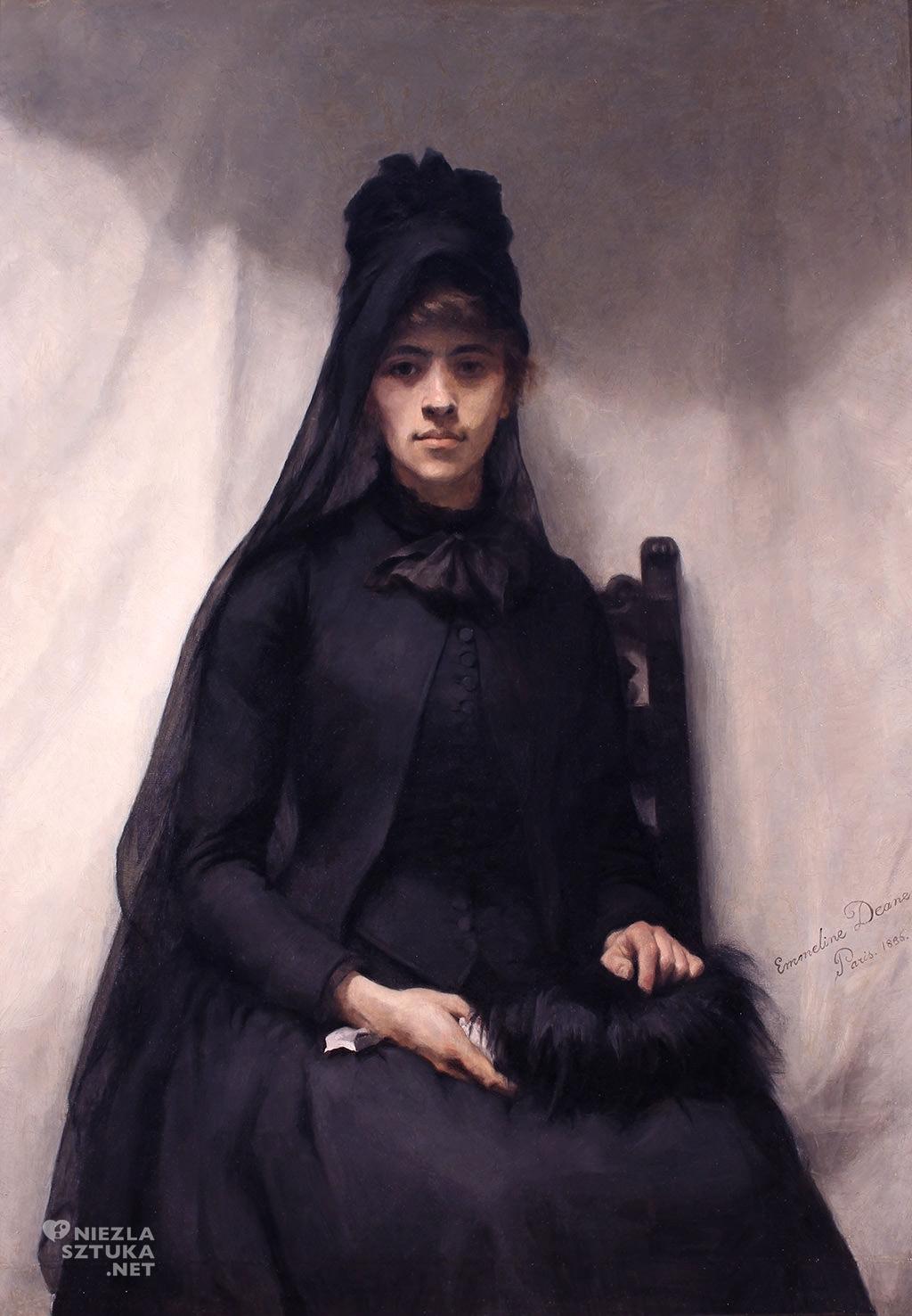 Emmeline Deane Portret Anny Bilińskiej