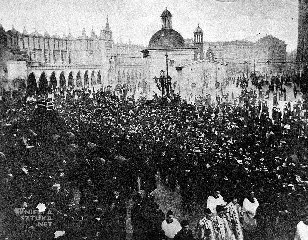 Pogrzeb Stanisława Wyspiańskiego, fot. NAC
