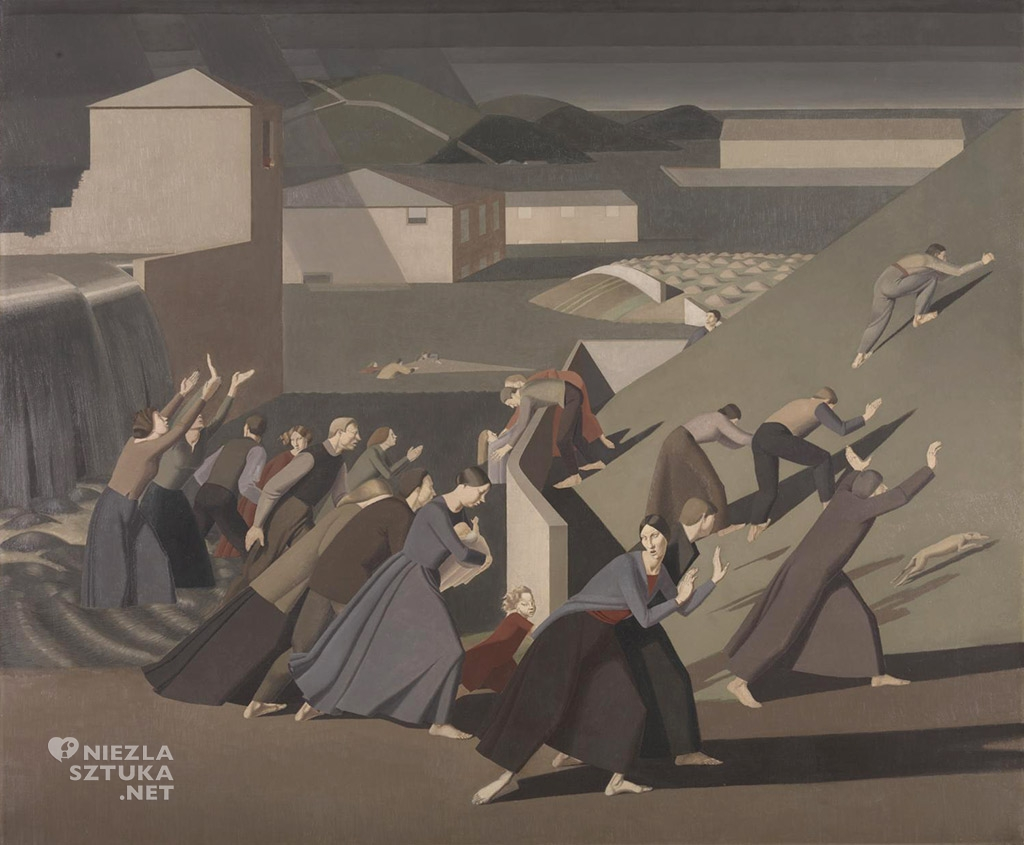 Winifreda Knights Potop | 1920, © The estate of Winifred Knights, źródło: tate.org.uk
