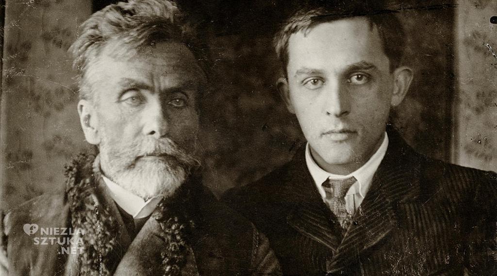 Stanisław Witkiewicz z synem Stanisławem Ignacym 1909, Muzeum Tatrzańskie w Zakopanem