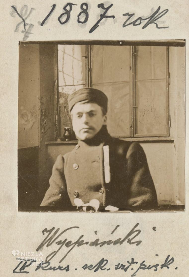 Stanisław Wyspiański w czasie studiów, fot. PauArt