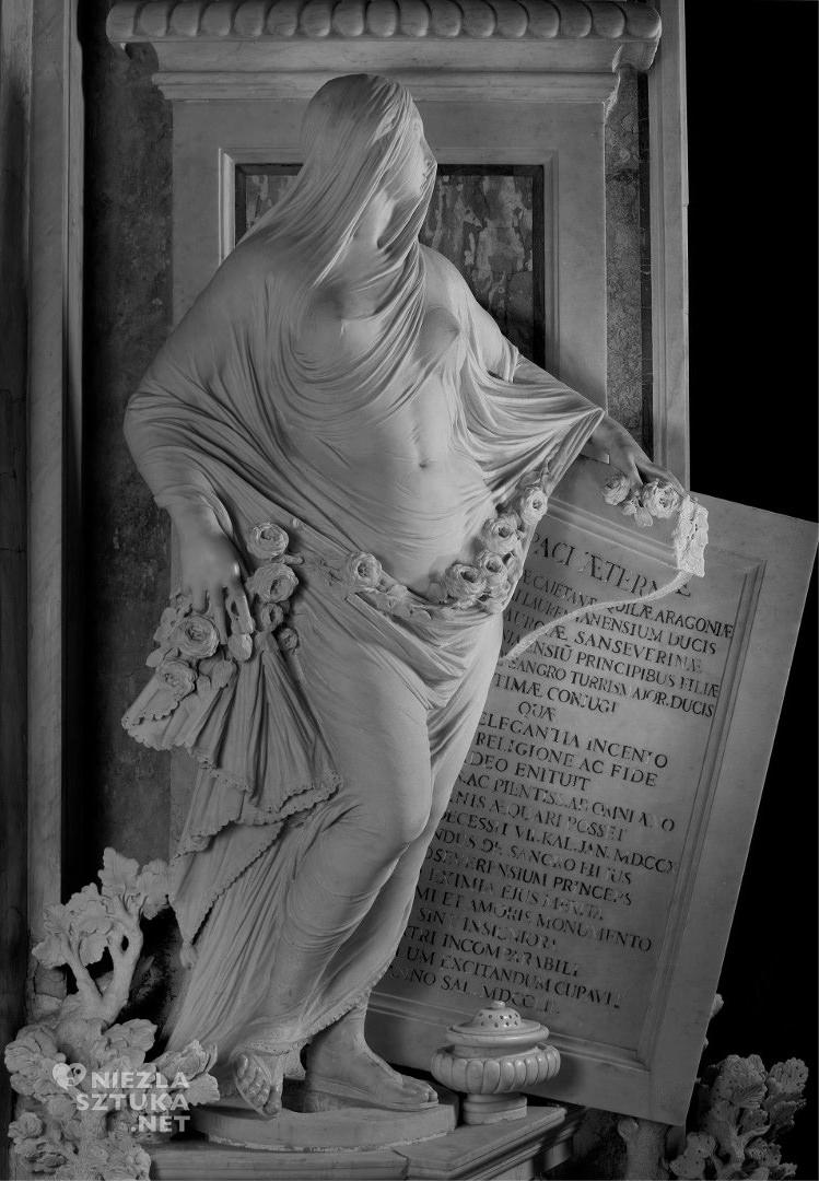 Antonio Corradini Skromność, kaplica Sansevero, Neapol