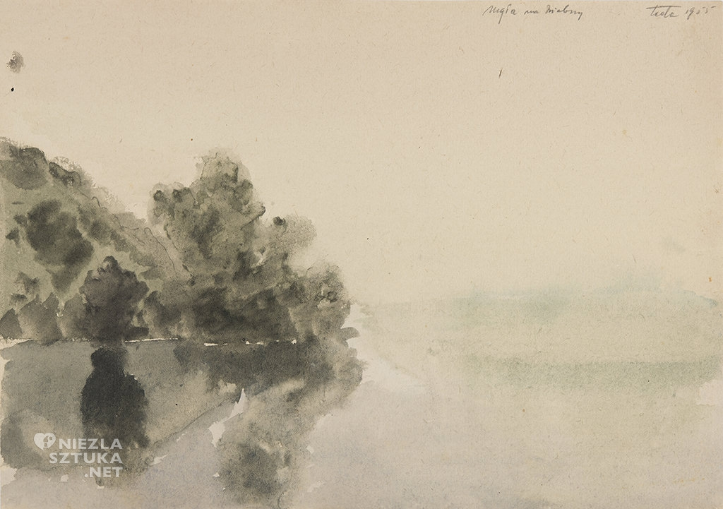 Tytus Dzieduszycki-Sas Mgła na Biebrzy | 1955
