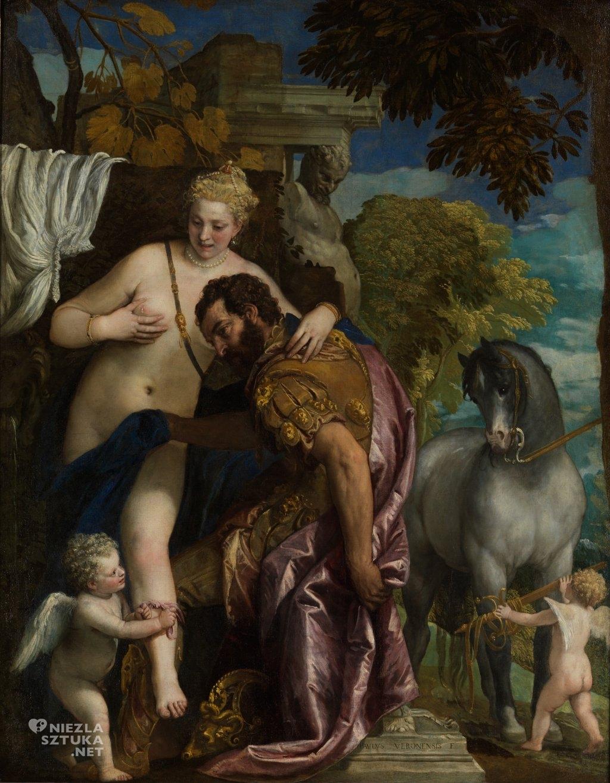 Paolo Veronese Mars i Wenus