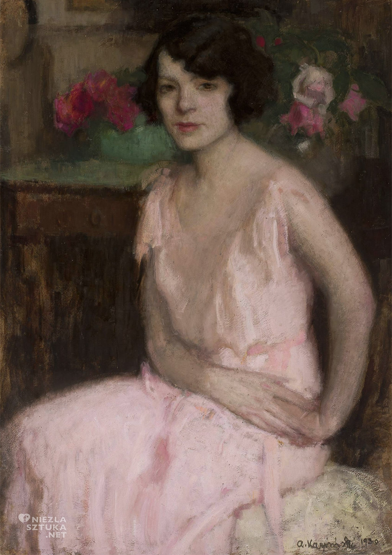 Alfons Karpiński Portret żony