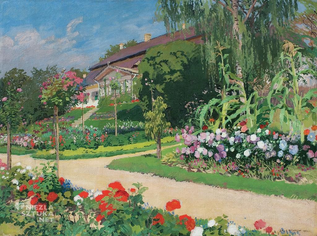 Józef Mehoffer Dworek i ogród w Jankówce