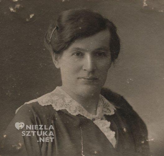 Franciszka Panek, żona Leona Wyczółkowskiego, fot. Muzeum Okręgowe w Bydgoszczy