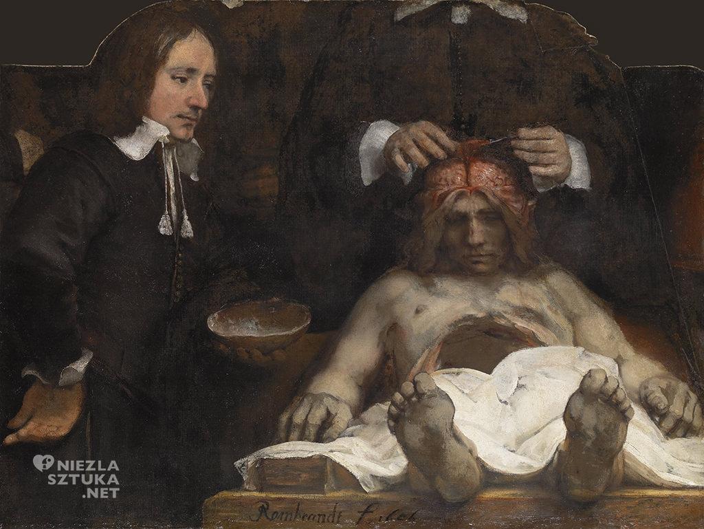 Rembrandt Harmensz. van Rijn Lekcja anatomii doktora Deymana | 1656, olej na płótnie, 98,5x132,5cm, Amsterdam Historisch Museum