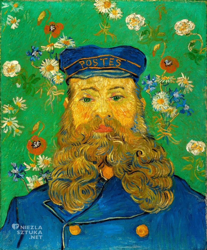 Vincent van Gogh Listonosz Joseph Roulin