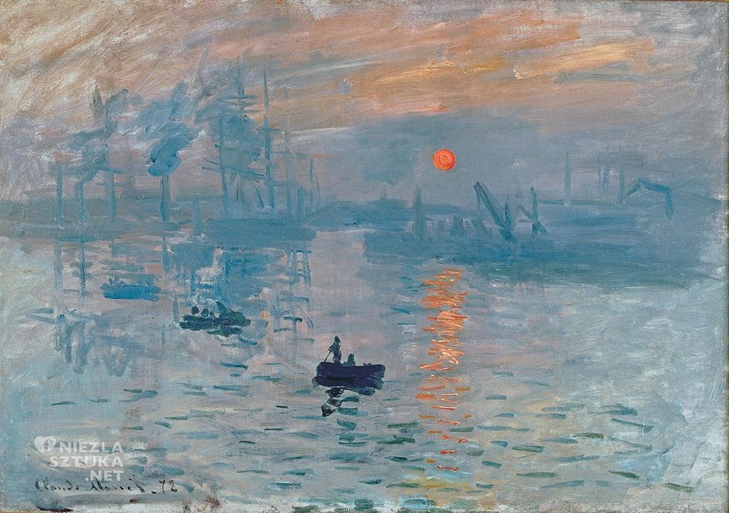 Claude Monet Impresja, wschód słońca | 1872, Musée Marmottan Monet