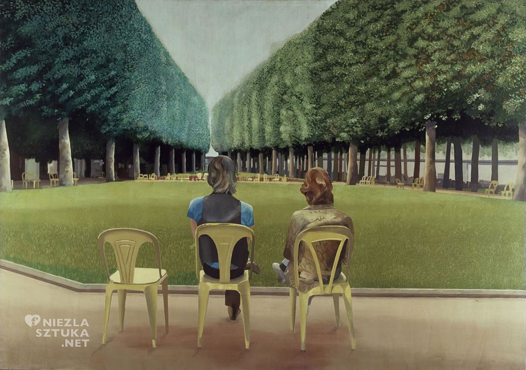 David Hockney <em>Park, Vichy</em>, 1970