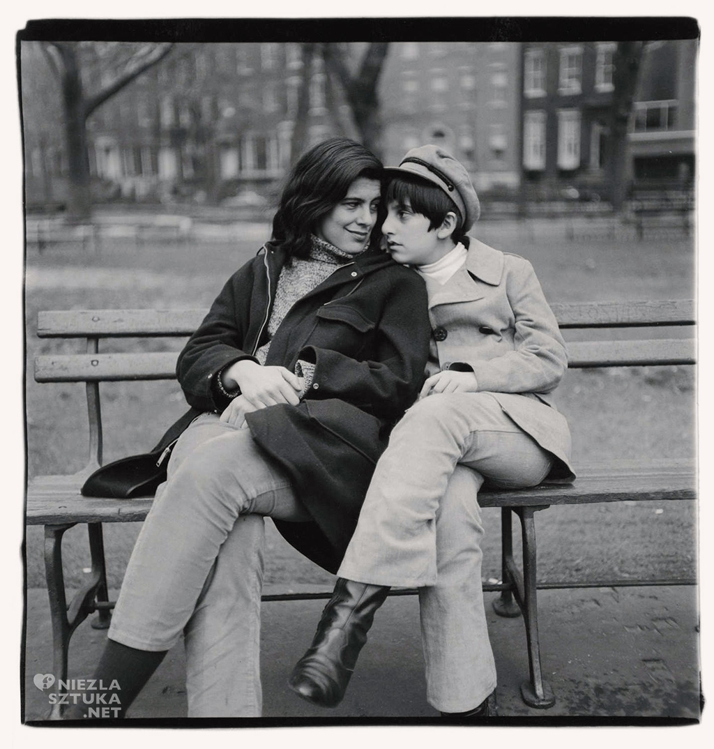 Susan Sontag z synem © The Estate of Diane Arbus