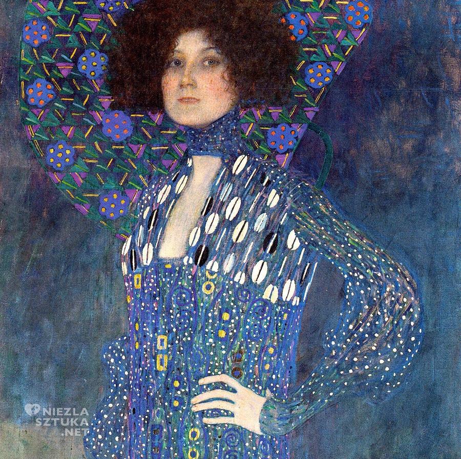 Gustav Klimt Portret Emilie Flöge