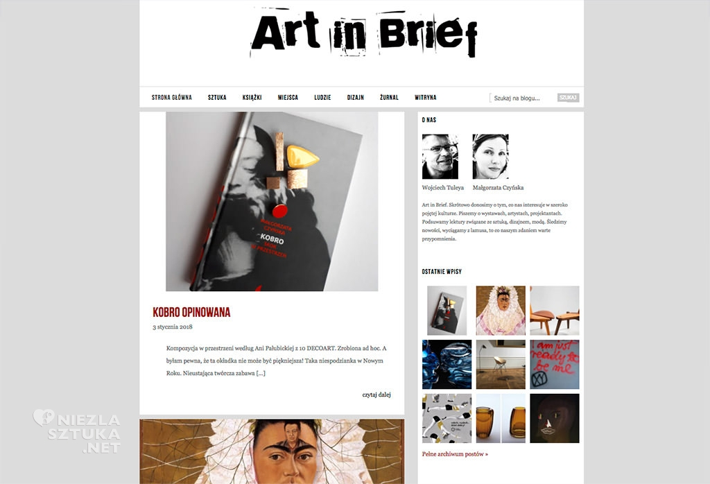 art-in-brief
