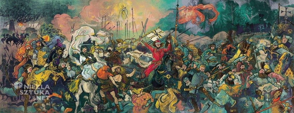 Bitwa pod Grunwaldem mistrza Jana Matejki według Zuzy Wollny