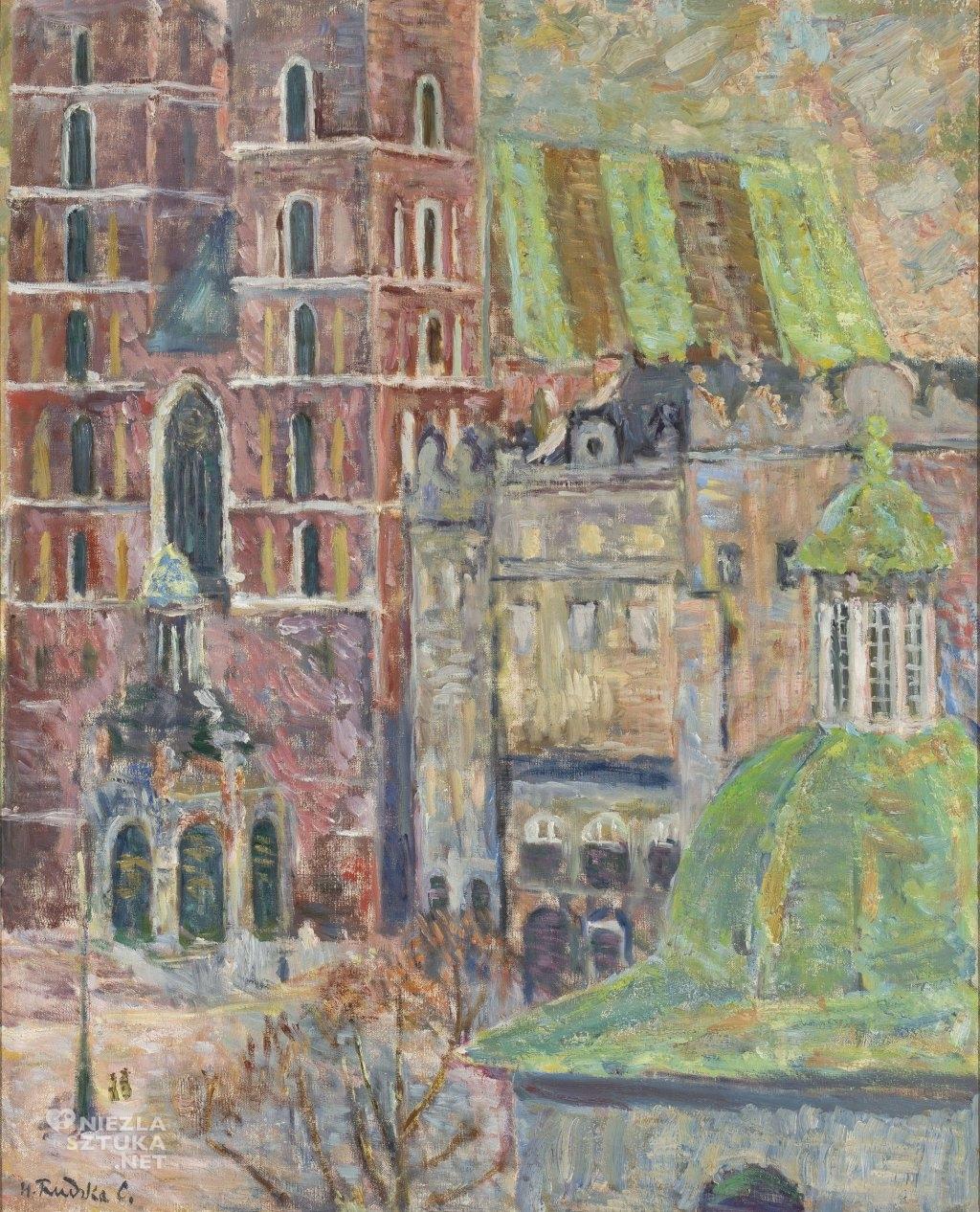 Hanna Rudzka-Cybis Kościół Mariacki w Krakowie | 1936, Muzeum Narodowe w Warszawie
