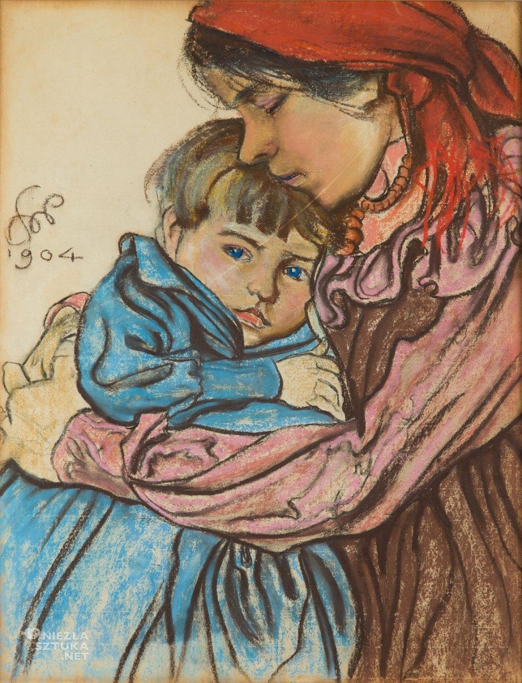 Stanisław Wyspiański Macierzyństwo | 1904, wł. prywatna, fot. DESA Unicum