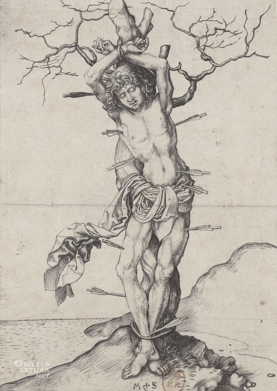 Martin Schongauer Św. Sebastian