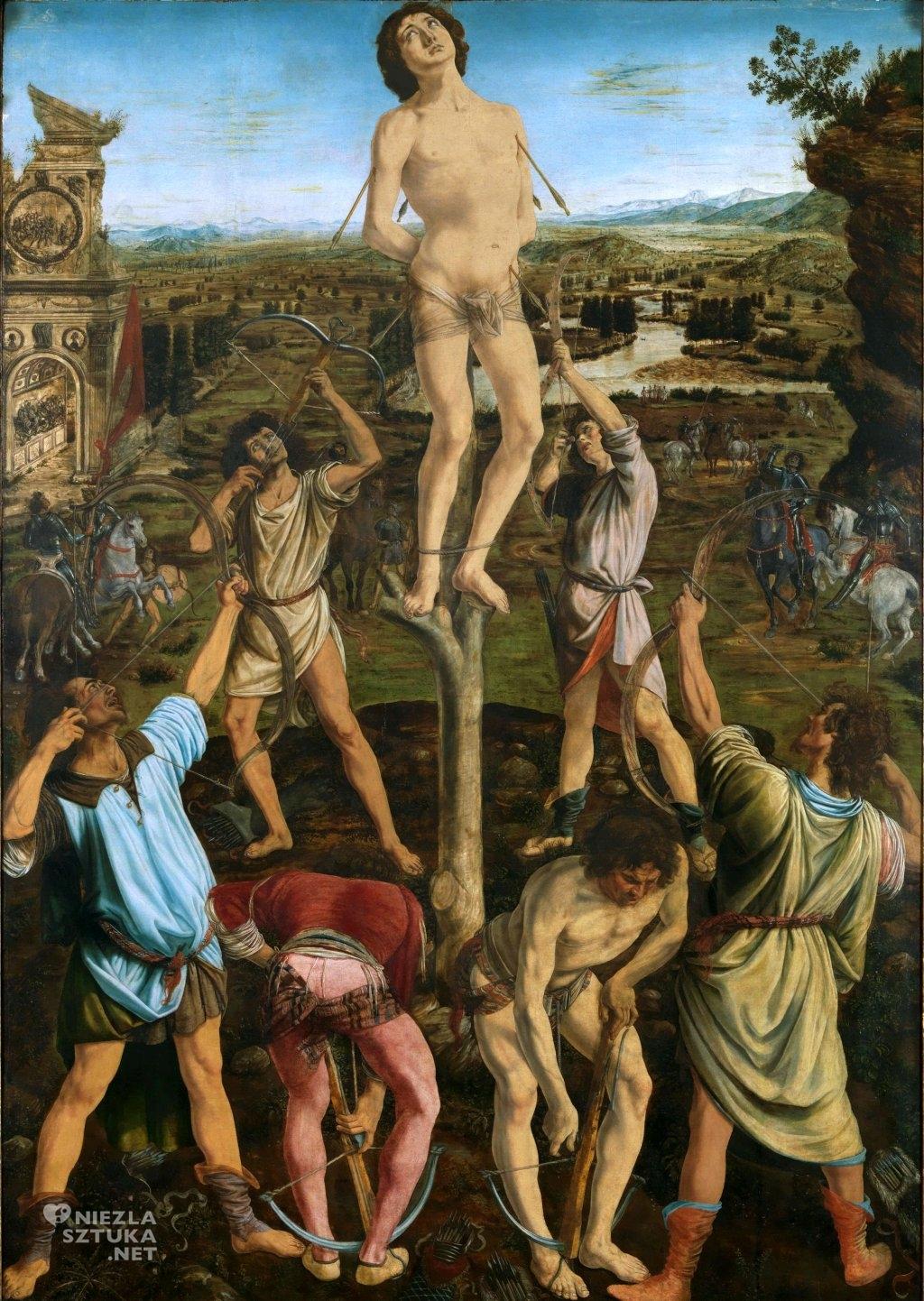 Antonio i Piero del Pollaiuolo Święty Sebastian