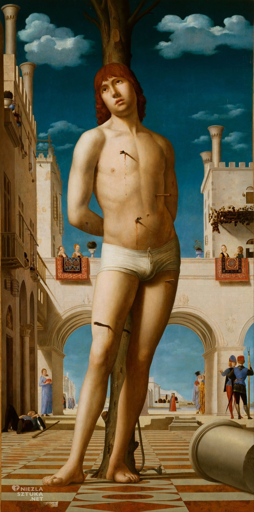 Antonello da Messina Święty Sebastian