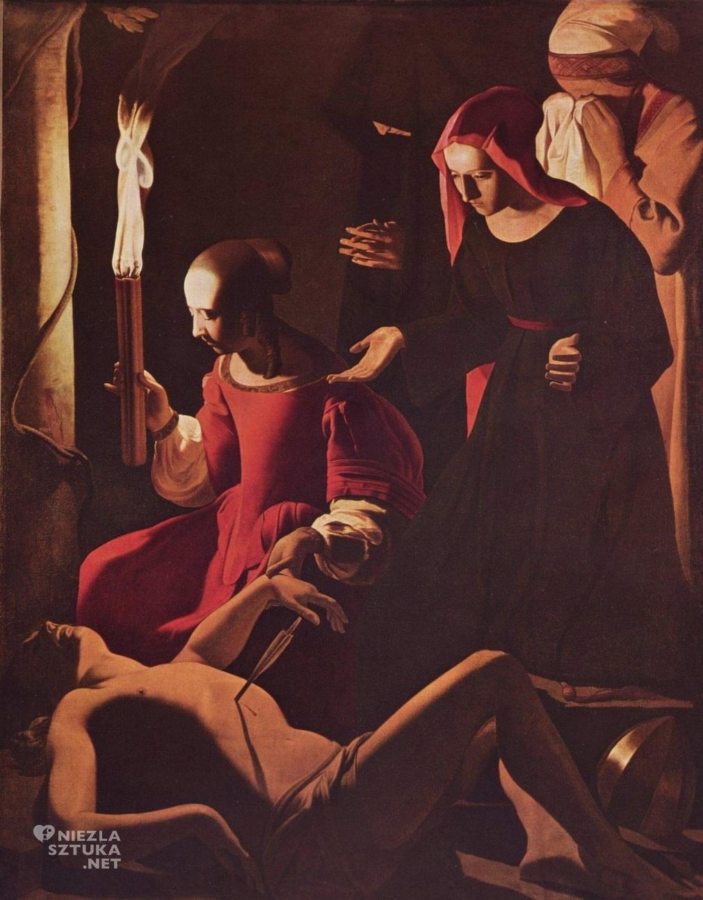 Georges de la Tour Święty Sebastian