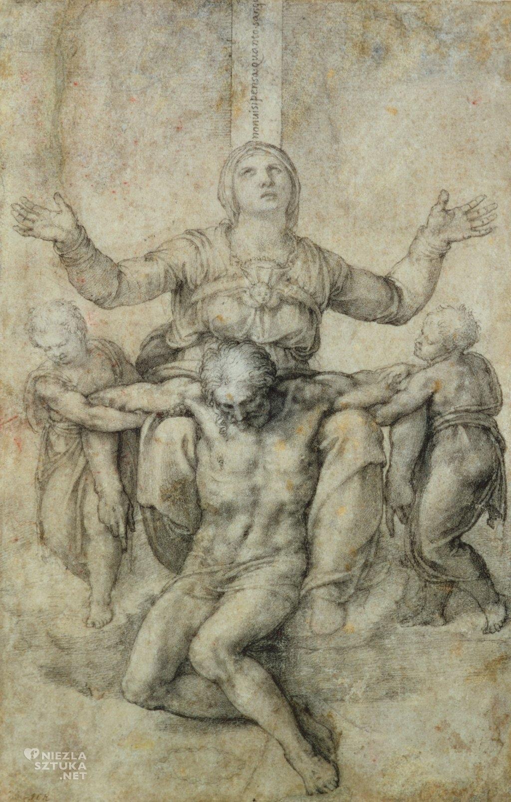 Michał Anioł Pieta Vittoria Colonna