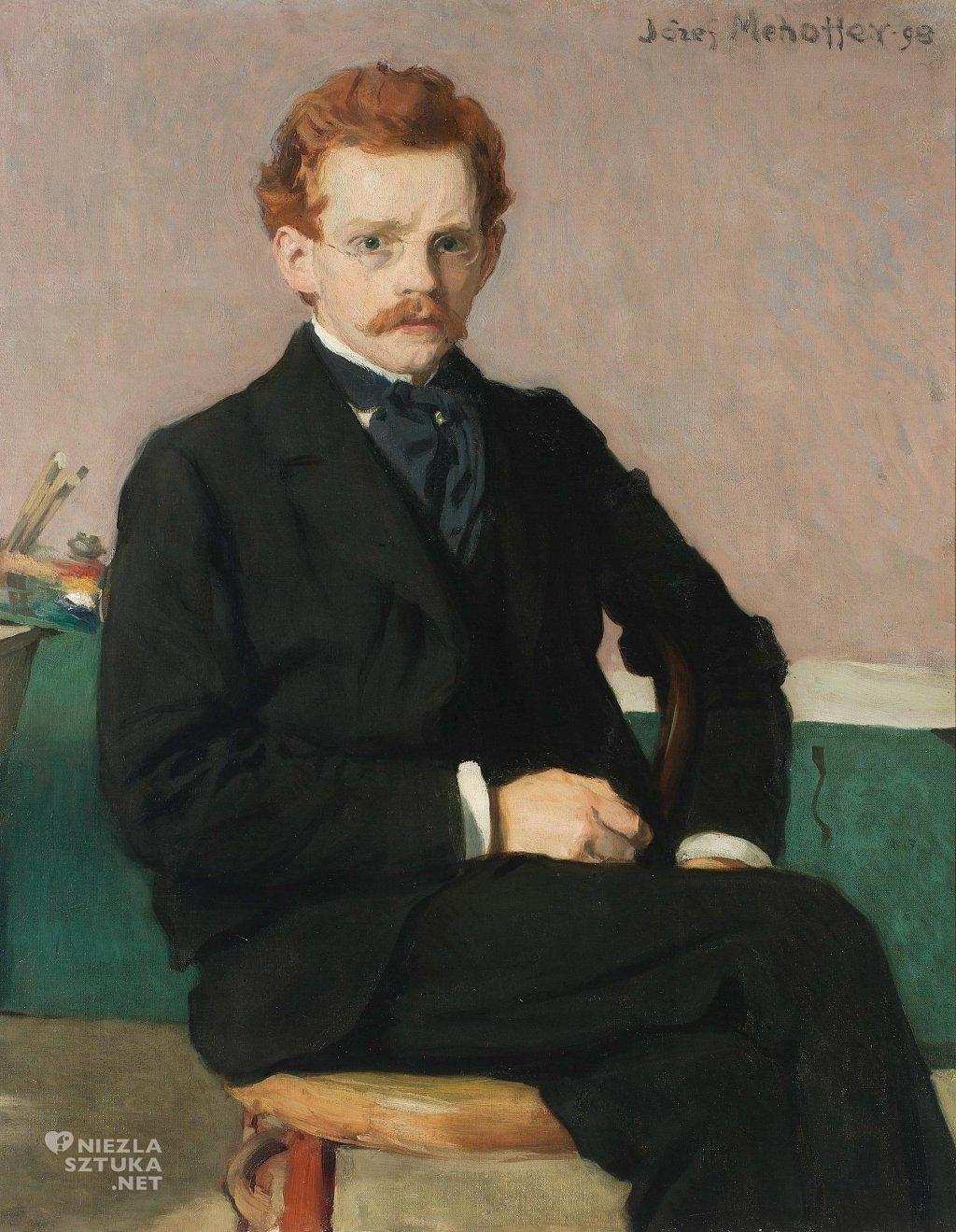 Józef Mehoffer Autoportret