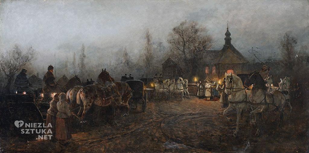 Antoni Piotrowski Ślub wieczorem