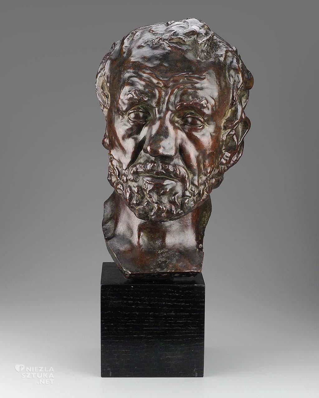 Auguste Rodin, Złamany nos, 1863-64, źródło : mfa.org