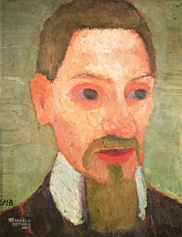 Paula Modersohn-Becker, Autoportret , niemieckie malarstwo, ekspresjonizm, Rainer Maria Rilke, Niezła sztuka