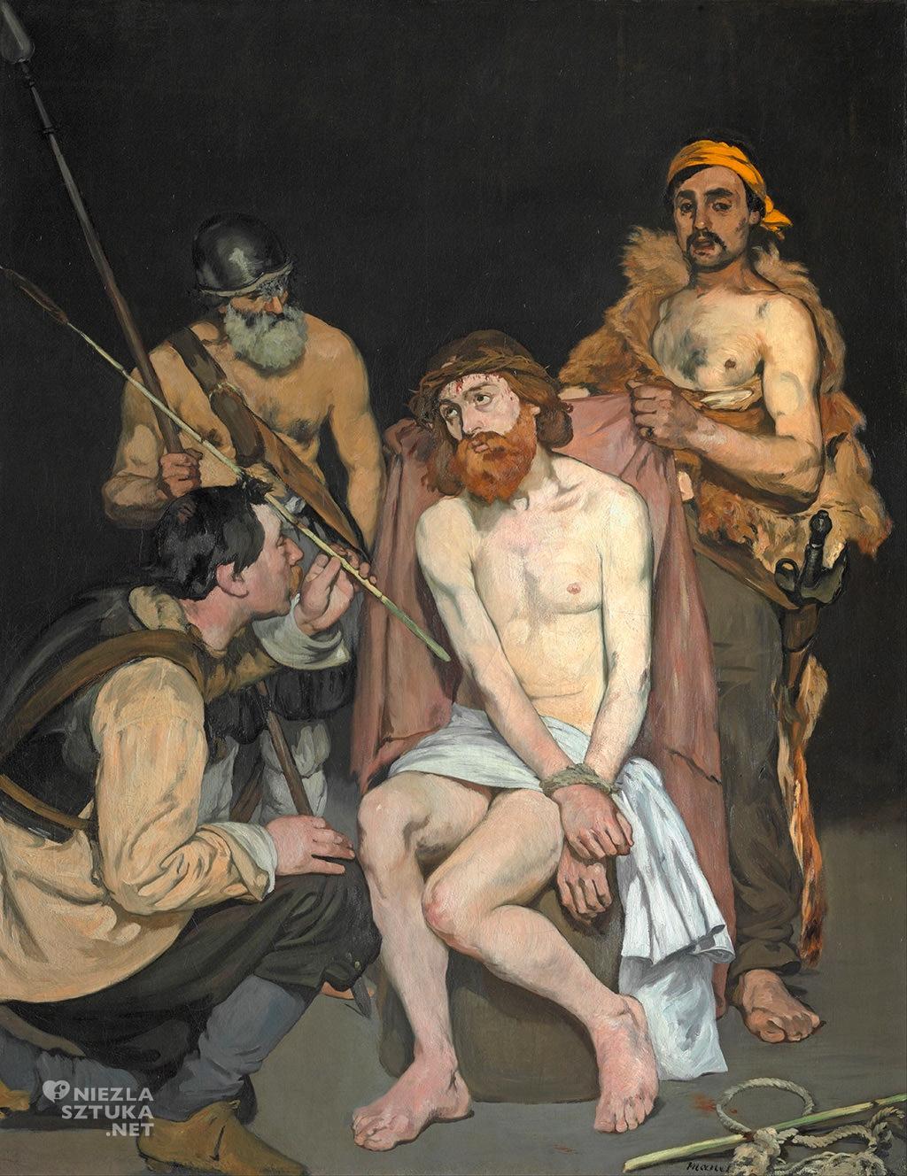 Édouard Manet, Męczenie Chrystusa |1865, Art Institut of Chicago