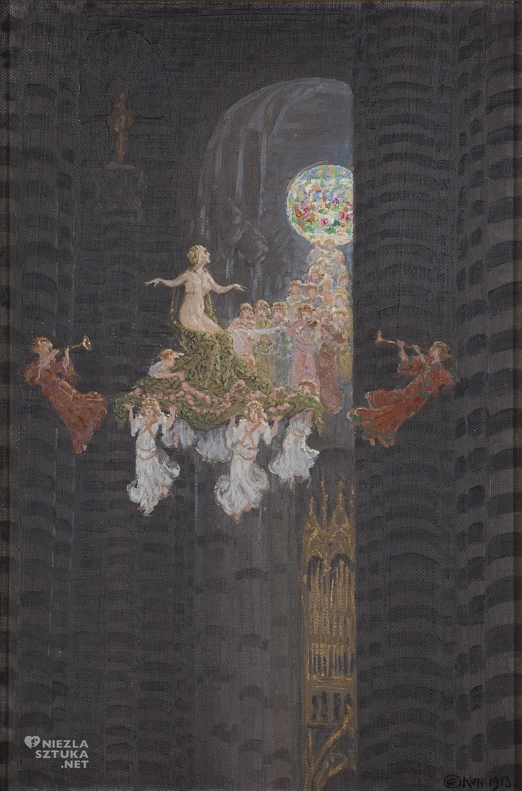 Edward Okuń Bajka Rezonans w katedrze