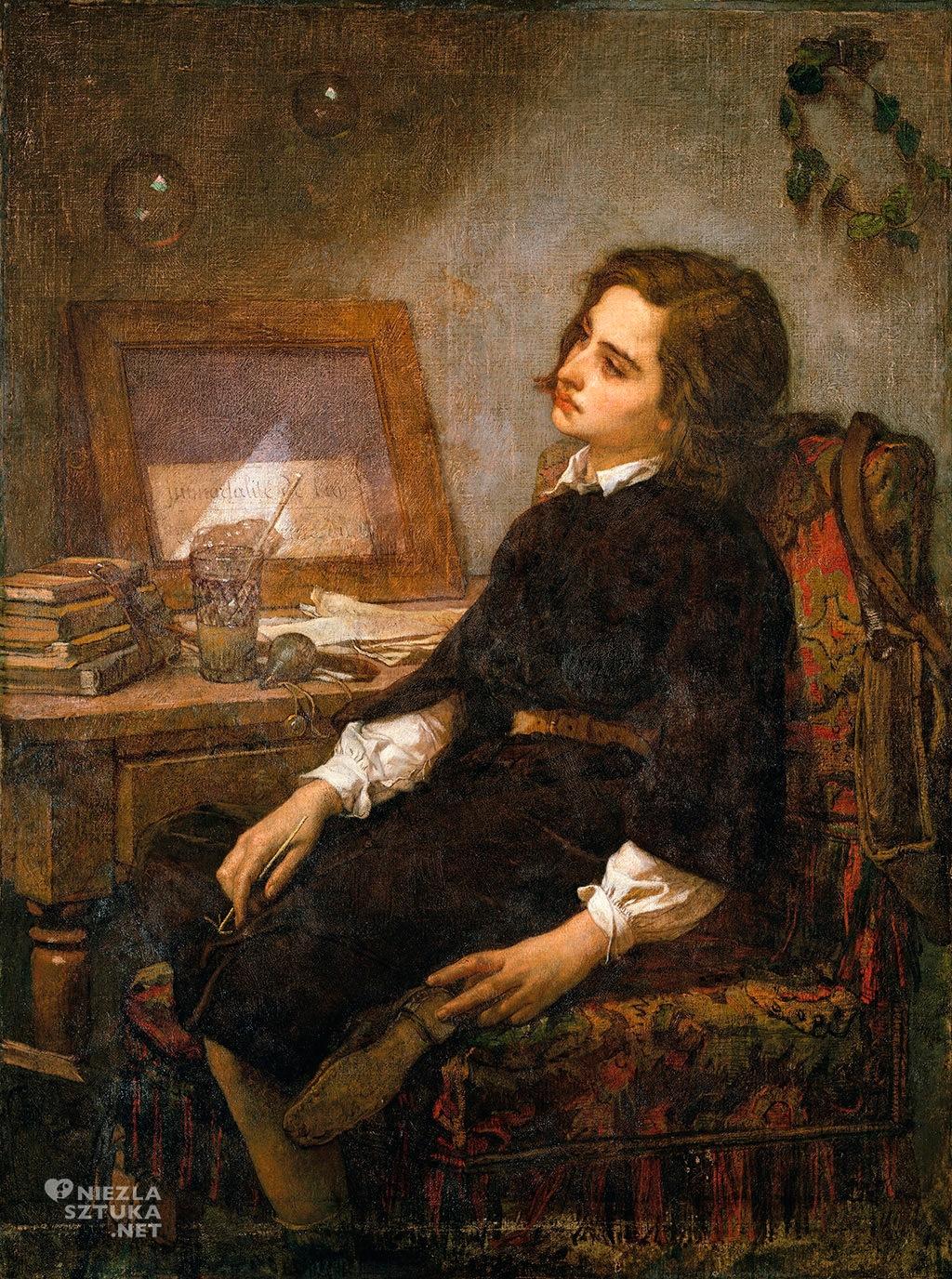 Thomas Couture, Bańki mydlane | ok.1859, olej, płótno, Metropolitan Museum of Art