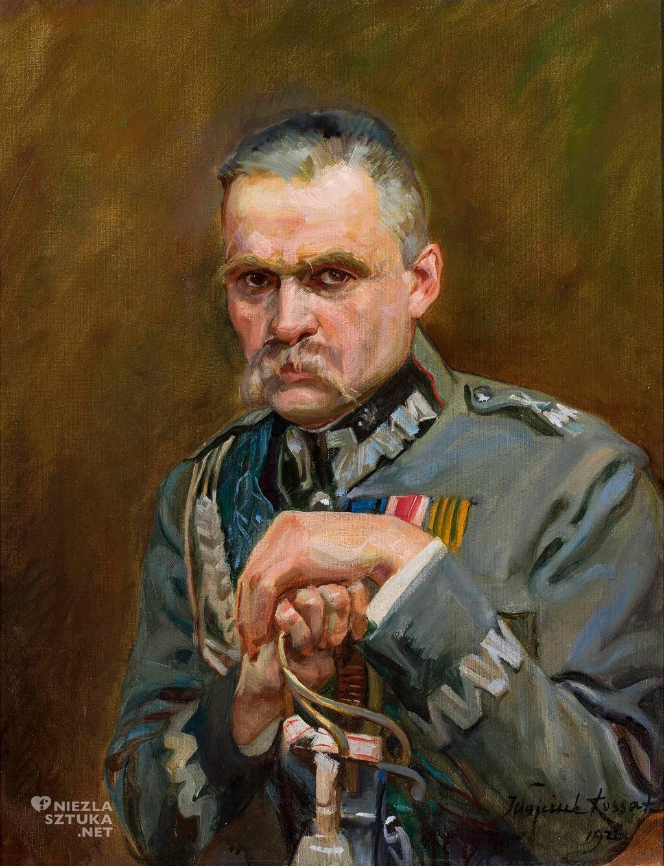 Wojciech Kossak Józef Piłsudski portret