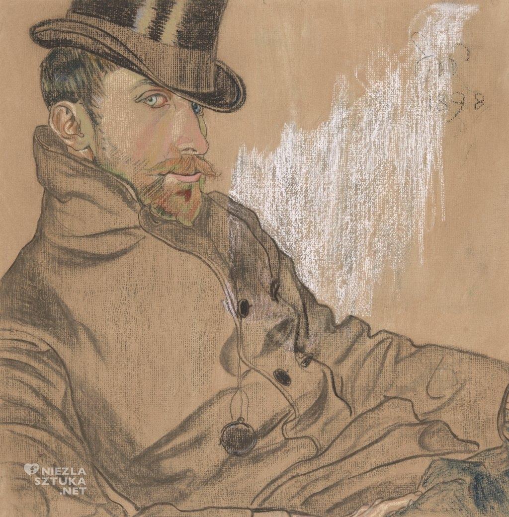 Stanisław Wyspiański Portret pastel