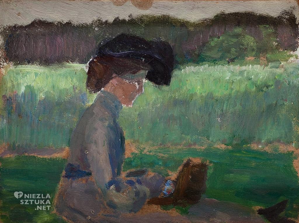 Jan Stanisławski, sztuka polska, malarstwo polskie, Muzeum Pałac Herbsta, Niezła Sztuka