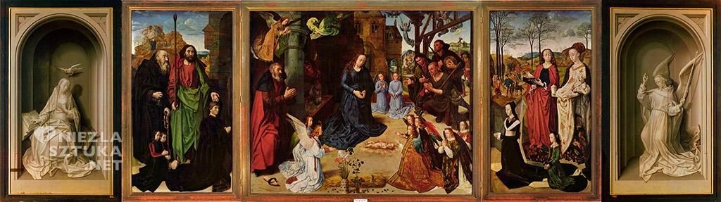 Hugo van der Goes, Tryptyk Portinarich | ok.1475, Galeria Uffizi we Florencji