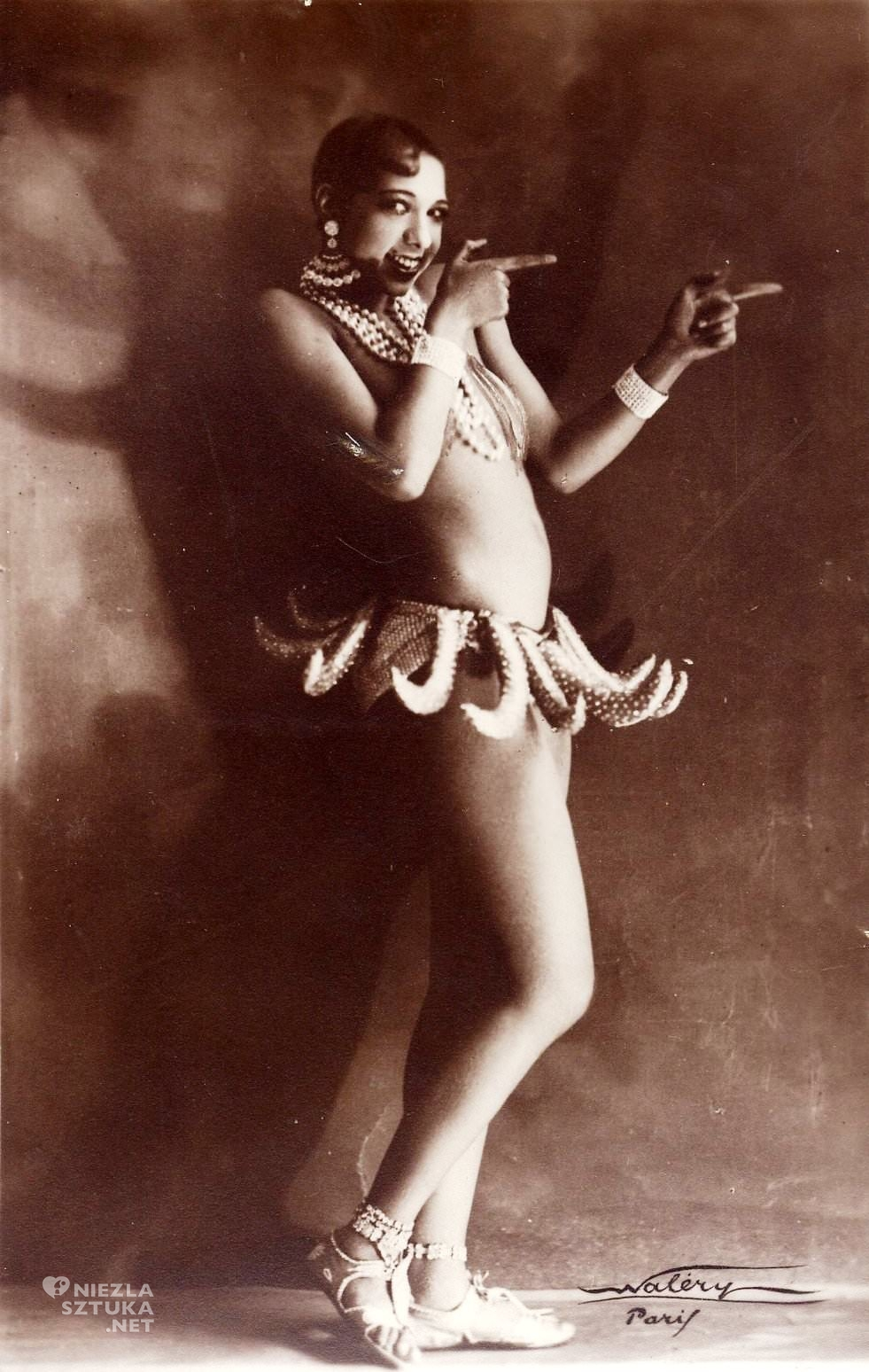 Josephine Baker tancerka