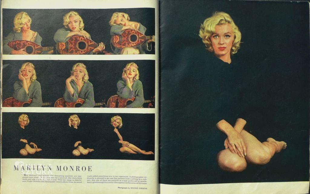 """Marilyn Monroe, Magazyn """"Look"""", fot. Dzięki uprzejmości Centrum Sztuki Mościce Niezła sztuka"""