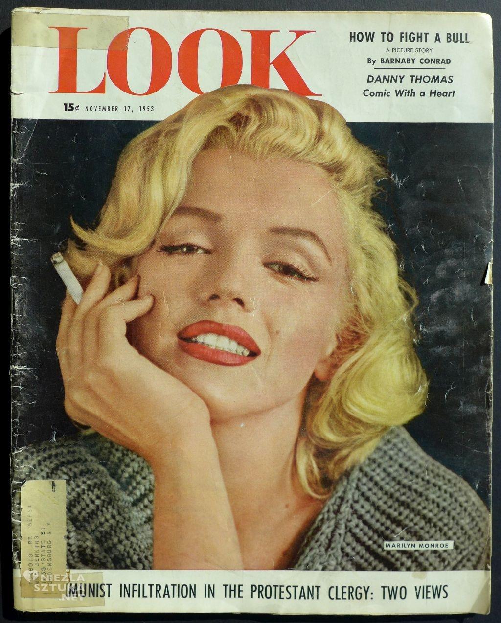 """Marilyn Monroe, Magazyn """"Look"""", fot. Dzięki uprzejmości Centrum Sztuki Mościce"""