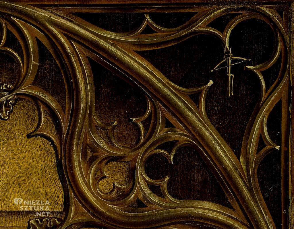 Rogier van der Weyden, Zdjęcie z krzyża, ok. 1435/43 olej, tempera, drewno, Museo Nacional del Prado, Madryt, malarstwo, Niezła sztuka