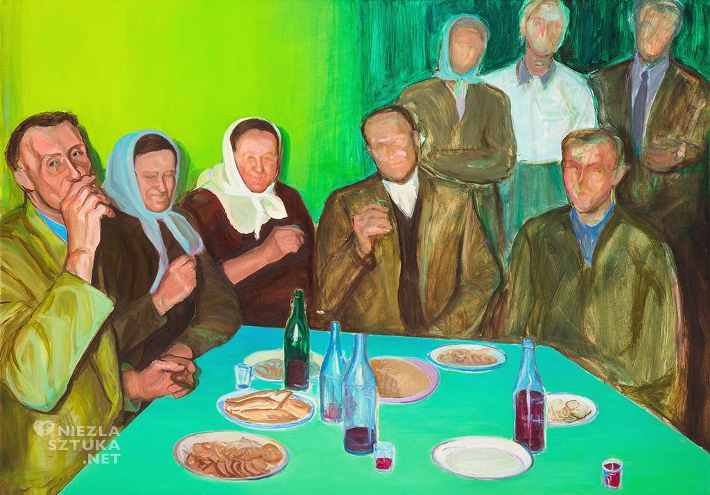 Wioleta Rzążewska malarstwo obraz portfolio Niezła sztuka